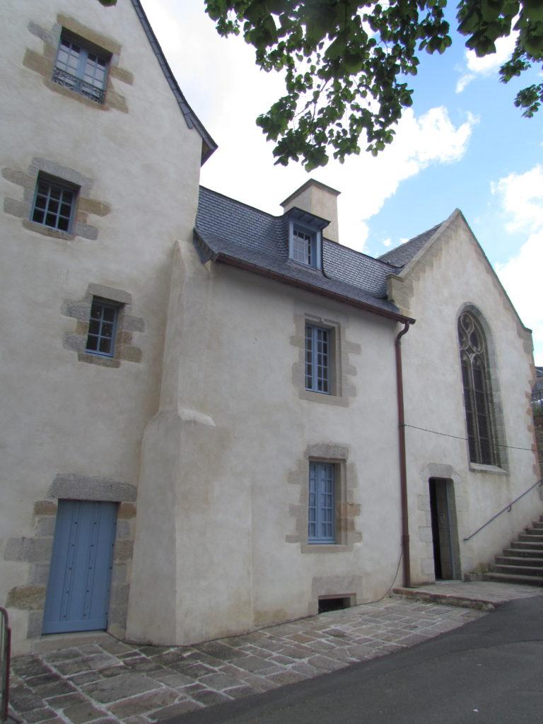 Chapelle et Hopital 16eme siecle St eutrope Quimperlé